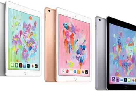 Groupon Goods Global GmbH - New Apple iPad 9.7 Inch 2018 in Apple Retail Box and with Apple Warranty With Free Delivery - Save 0%