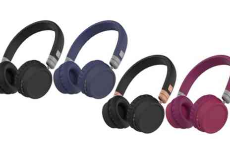 Groupon Goods Global GmbH - Kitsound Harlem Bluetooth Headphones - Save 43%