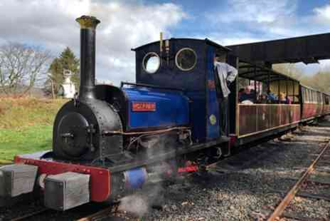 Bala Lake Railway - Steam Railway Return Tickets for Two Adults or Two Adults and Two Children - Save 32%