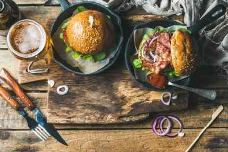 Rose & Crown - Burger and a Beer for Two or Four - Save 44%