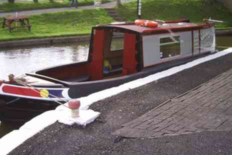 Norbury Wharf - Full Day Narrowboat Hire for Up to Ten - Save 44%