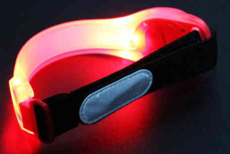 Best mall ever - Pack of 2 Led Arm Bands - Save 76%