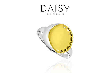 Deals Direct - Daisy London sun and moon ring - Save 71%