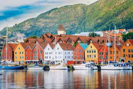Bargain Late Holidays - Four night Oslo and Bergen, Norway trip with train transfers between cities and return flights - Save 32%
