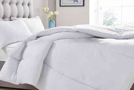 Home Furnishings Company - Single 10.5 tog summer duvet choose from four sizes - Save 71%