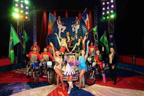 Planet Circus - Adult or child's ticket to a performance of Planet Circus choose either Wigan or Fleetwood - Save 47%