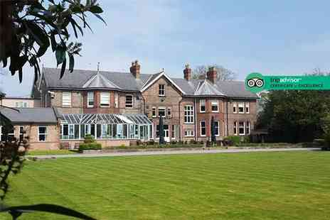 Burn Hall - Sunday carvery and bird of prey experience for two or family of four - Save 51%