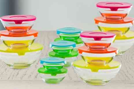 Groupon Goods Global GmbH - Pack of 15 Glass Bowls - Save 75%