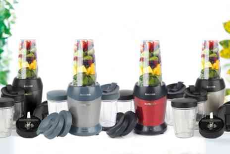 Groupon Goods Global GmbH - Salter NutriPro Blender, Accessory Pack or Both - Save 52%