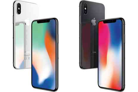 Groupon Goods Global GmbH - Apple iPhone X 64GB or 256GB With Free Delivery - Save 0%