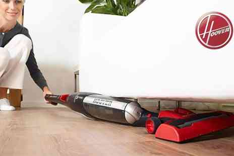 Groupon Goods Global GmbH - Hoover Unplugged 20.4V Cordless Stick Vacuum Cleaner - Save 0%