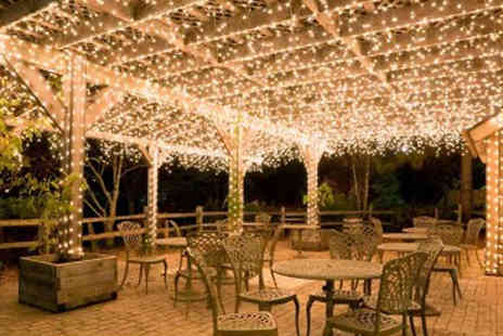 DML Solutions - LED Solar Fairy Lights, 50 or 150 - Save 60%
