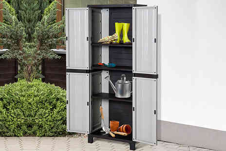 Aosom - Small or large garden storage cabinet - Save 58%
