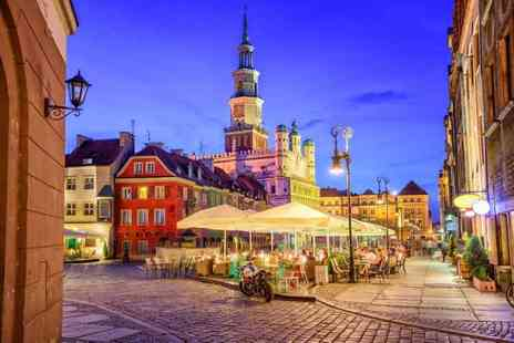 Bargain Late Holidays - Two or three night Riga, Latvia getaway with breakfast and return flights - Save 21%