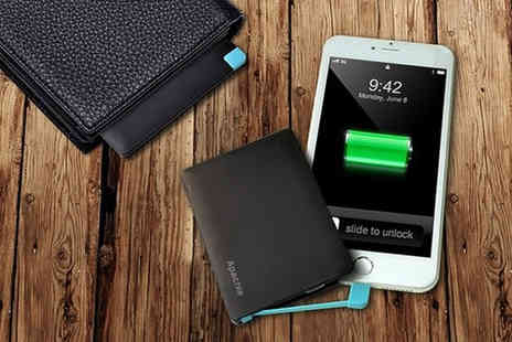 Some More - Credit card power bank - Save 74%