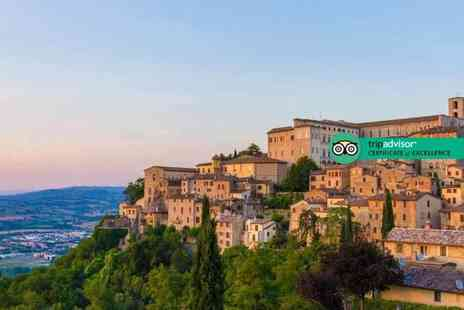 Super Escapes Travel - Three or five night half board getaway with an Italian cooking class and return flights - Save 56%
