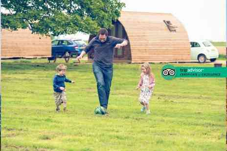 Wigwam Holidays Crowtree - Two or three night heated wigwam stay for up to four people and two dogs - Save 53%