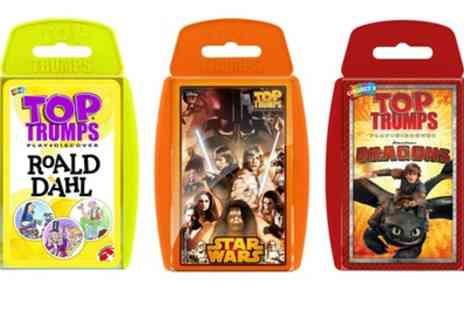 Groupon Goods Global GmbH - Top Trumps Triple Pack from Roald Dahl, Dragons and Star Wars - Save 0%