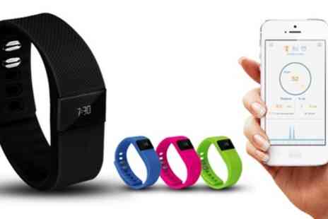 Groupon Goods Global GmbH - Aquarius Bluetooth Fitness and Activity Tracker - Save 78%