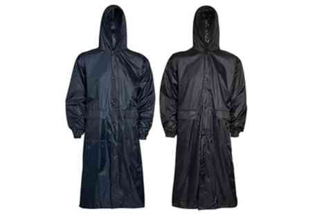 Groupon Goods Global GmbH - Mens Longline Rainproof Jacket - Save 0%