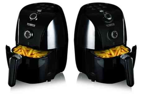 Groupon Goods Global GmbH - Tower T17025 Compact Air Fryer with 30 Minute Timer - Save 45%