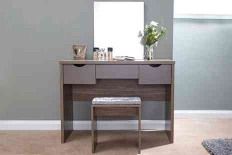 Groupon Goods Global GmbH - Stockholm Dressing Table Collection in a Choice of Style With Free Delivery - Save 0%