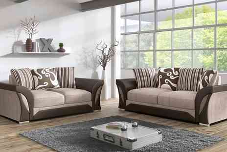Groupon Goods Global GmbH - Farrow Sofa Collection With Free Delivery - Save 0%