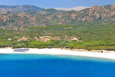 Cala Ginepro Hotel Resort - Relaxing Retreat Moments from Gorgeous Bay For Two - Save 75%