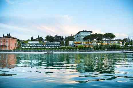Blu Hotels - Four Star Upscale Hotel Stay For Two On The Shores of Lake Garda - Save 58%