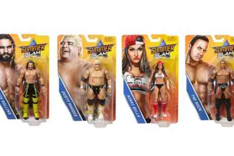 Groupon Goods Global GmbH - WWE Summer Slam Four Figure Pack - Save 0%