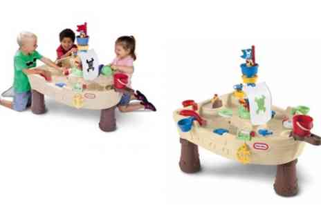 Groupon Goods Global GmbH - Little Tikes Anchors Away Pirate Ship With Free Delivery - Save 14%