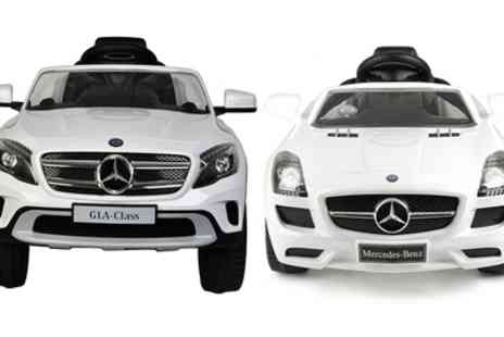 Groupon Goods Global GmbH - Toyrific Mercedes Benz Sls or Gla Electric Kids Ride On With Free Delivery - Save 12%