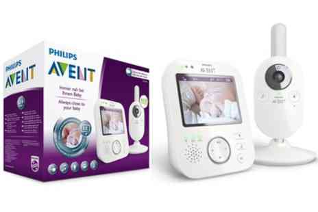 Groupon Goods Global GmbH - Philips Avent SCD630/26 Babyphone Camera and Monitor With Free Delivery - Save 0%