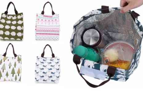 Groupon Goods Global GmbH - Up to Four Nature Themed Thermal Lunch Bags - Save 75%