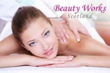 Beauty Works Scotland - Full Body Massage With Back Moisturising Treatment - Save 0%