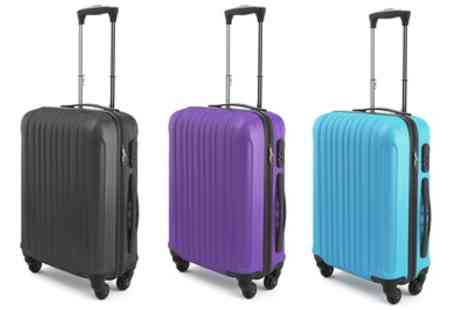 Groupon Goods Global GmbH - Sammy Cabin Abs Suitcase with Four Wheels in a Choice of Colours - Save 72%