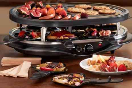 Groupon Goods Global GmbH - Cooks Professional Raclette Grill - Save 63%
