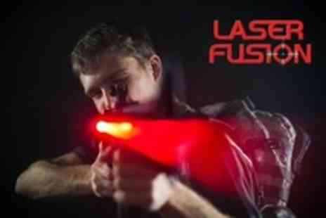 Laser Fusion - Kid's Laser Tag Entry With Pizza Buffet - Save 60%