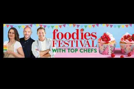 Foodies Festival - Ticket to Foodies Festival, 26 To 28 May with Show Guide and Goody Bag - Save 31%