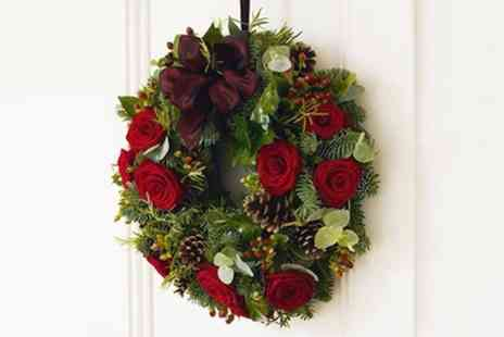 School of Floristry - Festive Wreath Making Class - Save 53%