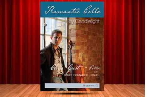 Candlelight Concerts - Tango Vivaldi and Romantic Cello by London Concertante ticket on 4, 18 and 19 May - Save 43%
