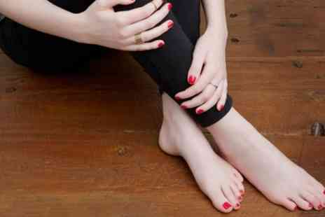Florys Beauty Studio - Shellac Manicure, Pedicure or Both with Nail Art - Save 44%