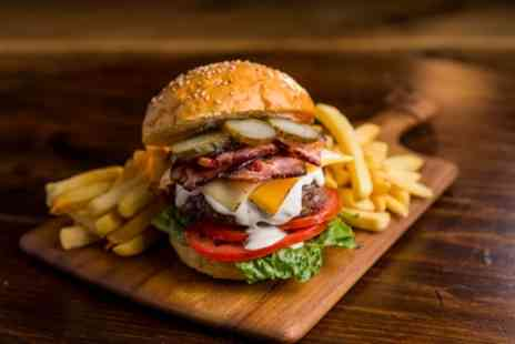 The Duchess of Duke Street - Burger and Beer for Two or Four - Save 49%