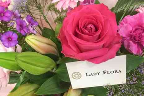 Lady Flora - £50 to Spend on Flowers - Save 50%