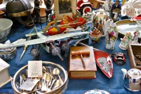 Hoyles Promotions - Early Bird Buyers Admission to Hoyles Promotions Sunday Flea Market - Save 50%