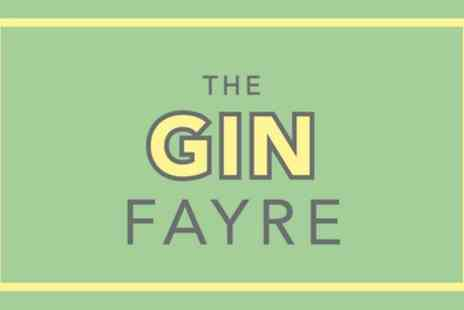 The Gin Fayre - Ticket to The Gin Fayre on 6 May or 16 June - Save 23%