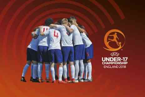The FA - England v Switzerland, UEFA European Under 17 Championship Ticket on 10 May - Save 0%