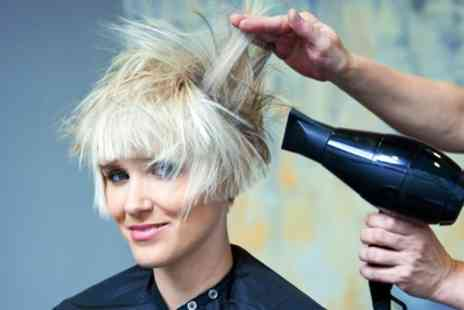 Llani Barbers - Wash, Condition and Blow Dry with Optional Foils or Colour - Save 50%