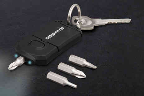 Ckent - Choice of Swiss tech key ring tools - Save 73%