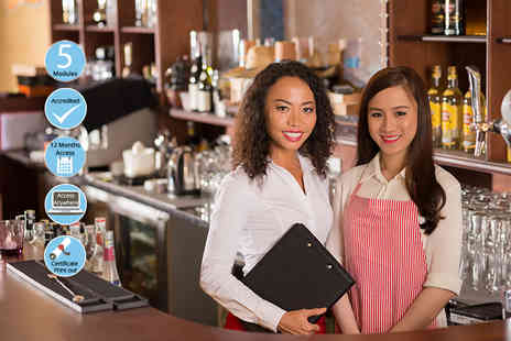 EventTrix - Accredited food & beverage management course - Save 88%